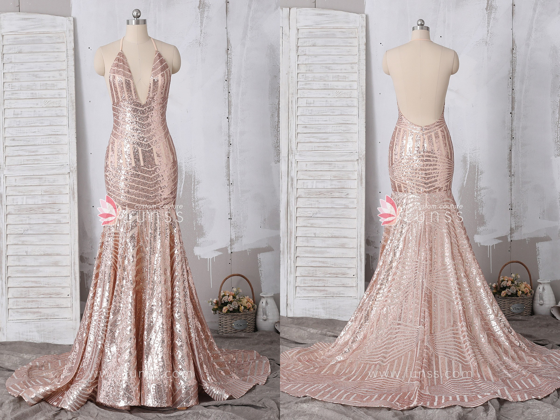 bfd1218bfdf7 5 Of The Best Sparkling Sequin Prom Dresses Designed by Lunss ...